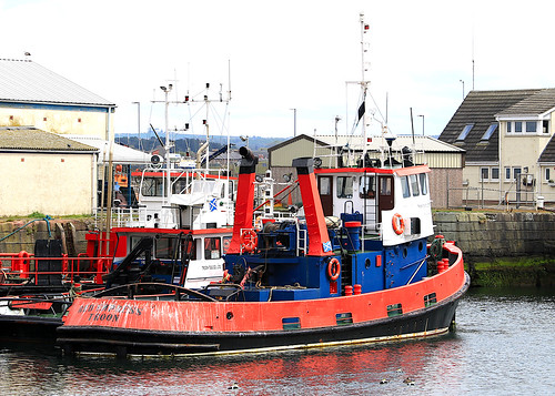 Tug Red Empress (Troon Tug Company-TT) - a photo on Flickriver