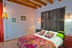 La Habitación Naranja (brujulea) Tags: brujulea casas rurales turre almeria casa rural nacimiento del rincon habitacion naranja
