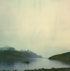 last day (lawatt) Tags: fjord mountains sky djúpavík árneshreppur westfjords iceland film instant polaroid slr680 roidweek2019