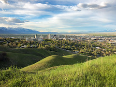 Salt Lake City from the foothills
