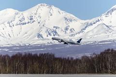 Aeroflot (SKYTEAM Livery) Boeing 777-3M0(ER) VQ-BQG (Zhuravlev Nikita) Tags: boeing 777 uhpp kamchatka elizovo aeroflot