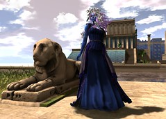 Quiet Stroll through Midas (LiangScorpio) Tags: fallengodsinc silvanmoondesigns fantasy faire sl secondlife