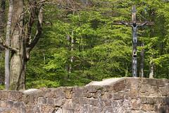 Klosterruine Jostberg (do25mi02nik85) Tags: bielefeld owl ostwestfalen drausen kirche kreuz jesus wald baum ruine stein mauer jostberg klosterruine klosterruinejostberg teutoburgerwald