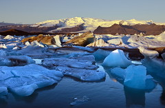 Joekulsarlon Glacial Lagoon, Iceland (klauslang99) Tags: klauslang joekulsarlon glacial bay iceland ice mountains landscape snow water ngc