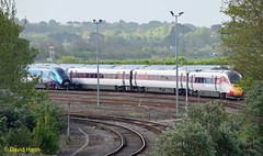 Eastleigh TRSMD  802201 + 801111 (davidhann34016) Tags: 802201 801111 class801 class802 eastleigh depot at300
