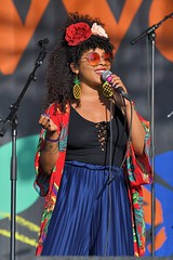 371-20180603_14th Wychwood Music Festival-Cheltenham-Gloucestershire-Main Stage-Hollie Cook Band-Hollie Cook (Nick Kaye) Tags: wychwood music festival cheltenham gloucestershire england