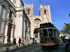 Lisbon Cathedral (The Se), April 2016 (sbally1) Tags: these lisboa cathedral lisbon portugal tram europe travel