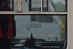 8209 at Claremorris, 13/4/19 (hurricanemk1c) Tags: claremorris railways railway train trains irish rail irishrail iarnród éireann iarnródéireann 2019 generalmotors gm emd 201 enterprise northernirelandrailways nir 8209 0935northwallballina iwtliner industrialwarehousingandtrading