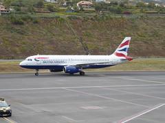 Airbus A320-232 - G-GATM (jimcnb) Tags: flugzeugaircraftairplane geo:lat=3269365301 geo:lon=1677570262 geotagged santoantóniodaserra madeira portugal 2019 april