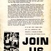 "Flyer charges HUAC conducts 'Salem witch trials"": 1968"
