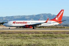 Boeing 737-81D (WL) Corendon TC-CON PMI LEPA (Toni Marimon) Tags: boeing 73781d wl corendon tccon pmi lepa winglets b738 737 738