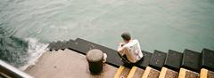 Victoria harbor (stevenwonggggg) Tags: xpan hassblad film harbor