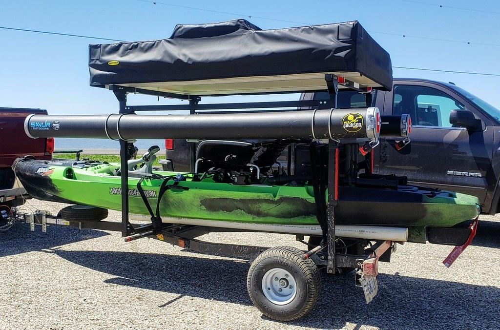 Kayak Camping Trailer