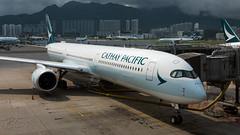 B-LXD - Cathay Pacific - Airbus A350-1041 (bcavpics) Tags: blxd cathaypacific cpa cx airbus a350 aviation aircraft airliner airplane plane hkg vhhh cheklapkok hongkong sar china bcpics