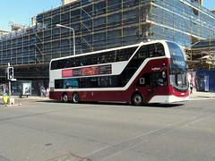 SJ19 OWC, Lothian Volvo ADL Enviro400 XLB (miledorcha) Tags: lothian buses city edinburgh scottish capital bus scotland 1069 sj19owc volvo b8 b8l tri axle three alexander dennis adl ltd enviro400 enviro 400 xlb dual door 100 seat seater psv pcv new double deck decker service 11 hyvots bank