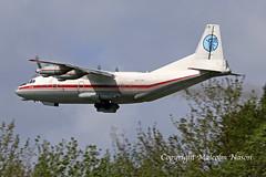 AN12BP UR-CAK UKRAINE AIR ALLIANCE (shanairpic) Tags: propliner freighter cargo an12 antonovan12 shannon ukraineairalliance urcak