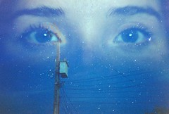 Night Time. (Porcupine Phantom.) Tags: film analog photography analogue cinestill 800tungsten tungsten longexposure double 35mm