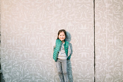Back Against the Wall. (MichelleSimonJadaJana) Tags: color sony ilce7rm3 α a7riii a7r iii full frame emount femount nex fe zeiss batis 40mm f2 402 cf ze4020cf vsco documentary lifestyle snaps snapshot portrait childhood children girl girls kid jada jana china 中国 shanghai 上海