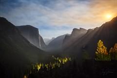 Moonrise at Yosemite (joyhhs) Tags: 2017 astrophotography august california usa yosemite moon canon on1 photography