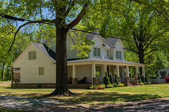 Rossville, TN (J McCallister) Tags: historic home house trees