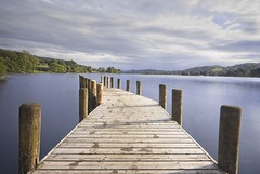 The Edge (joyhhs) Tags: 2017 lakedsitrict may uk landscape lake pier canon water long exposure sky reflection calm photography on1