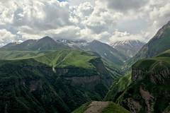 Mountain Vista (cowyeow) Tags: georgia georgian caucuses nature landscape easteurope travel road vista mountains clouds