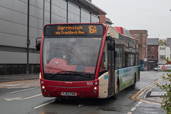 Warrington's Own Buses YJ62FNW (Mike McNiven) Tags: warringtonsownbuses warrington networkwarrington optare versa hybrid dieselelectric ecohybrid dallam hospital interchange leghstreet