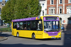 Bournemouth Yellow Buses 535 YX12AXU (Will Swain) Tags: bournemouth 20th october 2018 south centre bus buses transport travel uk britain vehicle vehicles county country england english yellow byb ratp 535 yx12axu former first london tower transit 44322