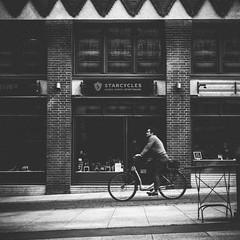 Starcycles (bentruetschler) Tags: streetphotography streetfotografie bicycle starcycles blackandwhite bw contrast bike bensnaps hamburg hafencity olympus omdem5ii