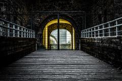 Aragon (JohnnyGiuliano) Tags: castle portal ancient middleages door outdoor visual gate bridge