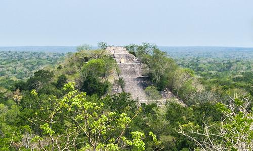 Estructura I de Calakmul