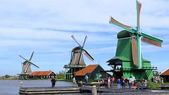 Zaanse Schans (willi.kampf) Tags: zaanseschans zuidholland windmollen molen windmill mill windmühle mühle dutchlandscape