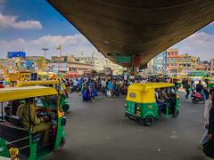 Traffic in City Market - Bangalore India (mbell1975) Tags: bangalore karnataka india traffic city market bengaluru indian