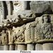capiteles románicos en santa Cecilia, Palencia,