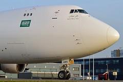 "Saudi Arabian Airlines (Air Atlanta Icelandic) TF-AMQ Boeing 747-412FSCD cn/26553-1069 @ EHAM / AMS Taxiway ""Q"" 28-12-2015 (Nabil Molinari Photography) Tags: saudi arabian airlines air atlanta icelandic tfamq boeing 747412fscd cn265531069 eham ams taxiway q 28122015"