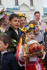 02. Пасхальная вечерня в соборе г. Святогорска 28.04.2019