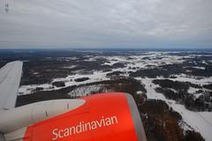 Take-off from Arlanda (A. Wee) Tags: sas 北欧航空 scandinavianairlines arlanda sweden 瑞典