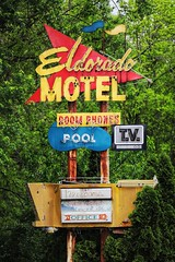 And I'll See You in Nashville if I Ever Get Out That Way (Thomas Hawk) Tags: tennessee motel neon nashville neonsign eldoradomotel usa america unitedstatesofamerica unitedstates fav10 fav25 fav50 fav100
