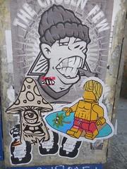 "zoer (Visual Chaos) Tags: venicebeach zoer zoersci sci scicrew losangelesgraffiti graffiti thechosenfew raddingtonfalls mushroom honeybear tag slaptag graffiti"" lego tsmoke rebelprin lovebearsallthings wheatpaste poster"