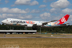 LX-VCM Cargolux Boeing 747-8F special 'Cutaway' livery (LUX-  ELLX - Luxembourg) (Sierra Aviation Photography) Tags: lila freight fracht boeing embraer airbus bombardier planespotting planespotter spotter avionik spotting aviation luftfahrt airline airlines airways airport runway landing departure arrival jet sierraaviationphotography canon 5d eos engine taxiway terminal apron flugzeug aeroporto avião luchthaven vliegtuig luchtvaart airliner jetliner civilaviation aircraft airplane aeroplano sierraaviation 飛機 飞机 الطائرات 航空機 空港 مطار 机场 航空公司 الطيران エアライン 항공회사