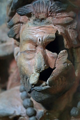 The Mayan Priest (peterkelly) Tags: digital canon 6d northamerica gadventures mayandiscovery mexico chiapas palenquenationalpark palenque sitiomuseum ceramic priest head censer broken face mayan maya