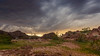 When You're Free (Wayne Stadler Photography) Tags: craggywash cloudy storm landscape desert travel blmland stormy hills arizona green landscapes rain camping clouds