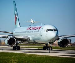 Air Canada 767-300ER YYZ/CYYZ (Sonny Photography) Tags: aviation toronto plan air canada aircanada 767300er 767 737 westjet avgeek nikon 70300mm plane aircraft boeing