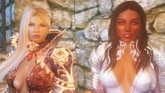 TESV - Valeria and Salsa (tend2it) Tags: kenb elder scrolls skyrim v rpg game pc screenshot screenarchery mods valeria lunari race