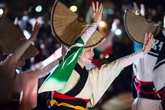 阿波舞 (王韋証) Tags: 台灣 新北市 板橋 火車站前廣場 taiwan newtaipeicity night 阿波踊り 和樂連 2019