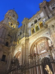 The Cathedral by Night (Keith Mac Uidhir 김채윤 (Thanks for 8m views)) Tags: spain españa spanje إسبانيا espanya spanien espagne اسپانیا ισπανία 스페인 spanyol espania spagna स्पेन sepanyol スペイン espanha hiszpania spania испания ประเทศสเปน ispanya tây ban nha spéin 西班牙 malaga andalusia andalucía