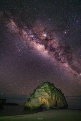 Milky Way at Watu Maladong (tehhanlin) Tags: indonesia sumba milkyway sony sonysg sonysingapore a7rm2 fe1224g landscape ngc seascape watumaladongbeach landscapes nightsky stars