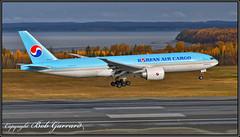 HL8046 Korean Air Lines (Bob Garrard) Tags: hl8046 korean air lines boeing 7777f 777 anc panc