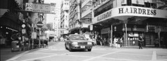 Mong Kok Taxi (stevenwonggggg) Tags: xpan hass hassblad bw film