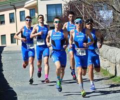 duatlón x equipos campeón natación David Huertas 2